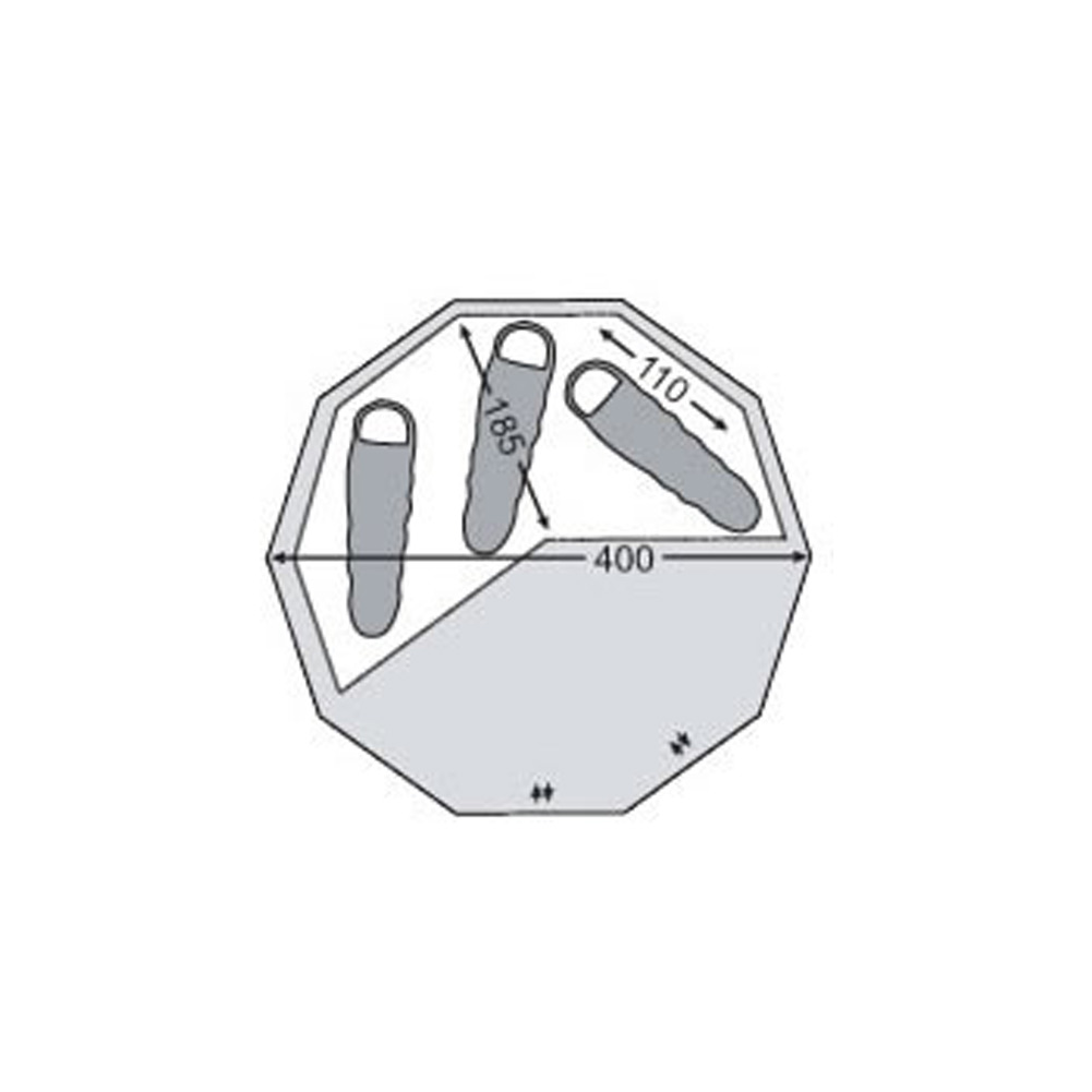 ZIP IN FLOOR 12.6 / ノルディスク ジップインフロアー 12.6